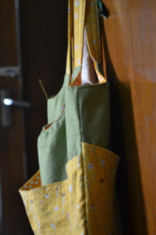 side of th bag