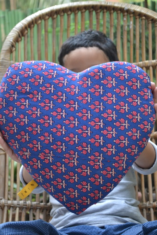 heart pillow 2