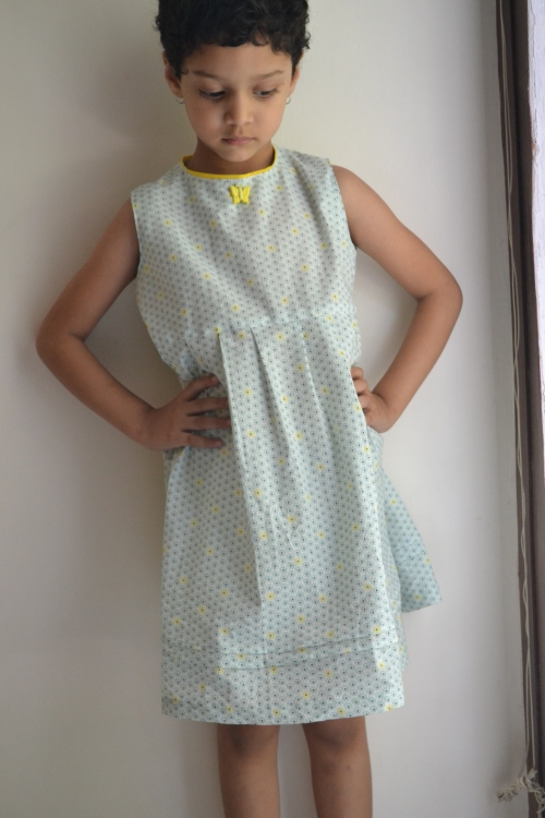 blue zipper dress 1