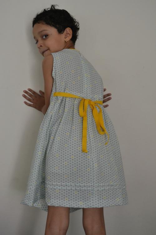 blue zipper dress 2