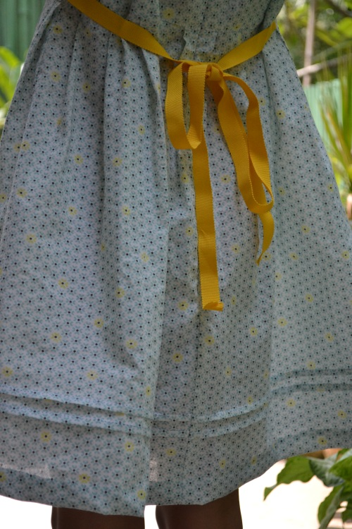 blue zipper dress 3