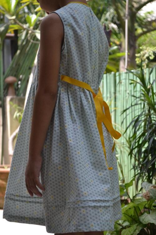 blue zipper dress 6