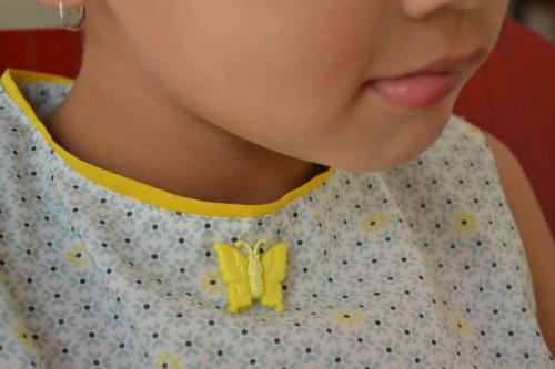 button closeup
