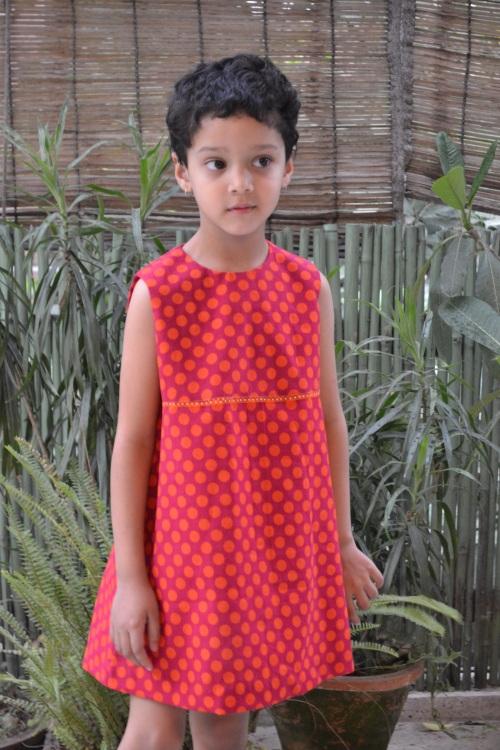 orange dress 3
