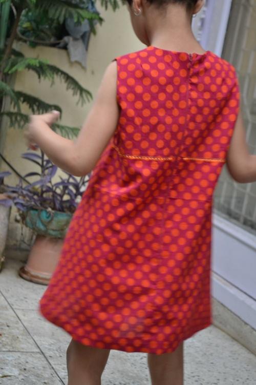 orange dress 4