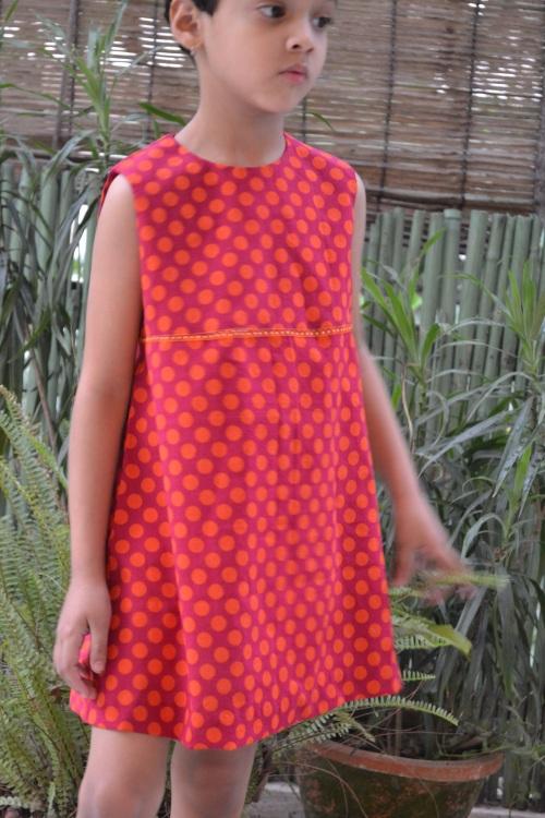orange dress 5